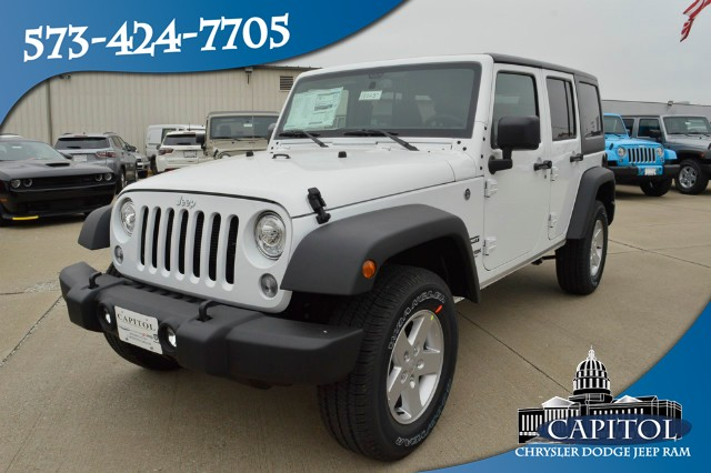 Awesome Other Vehicles You May Like. New 2018 JEEP Wrangler Unlimited Sport S