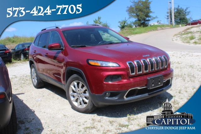 Pre-Owned 2015 Jeep Cherokee 4WD Limited