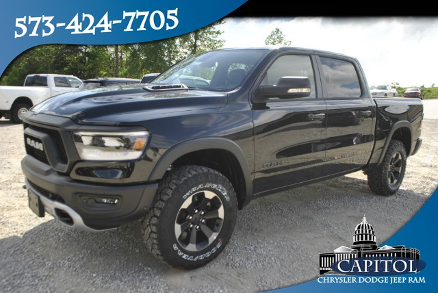 New 2019 RAM All-New 1500 4WD Rebel Crew Cab