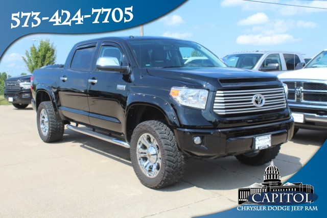Pre-Owned 2017 Toyota Tundra 4WD Platinum 5.7L V8