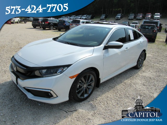 Pre-Owned 2019 Honda Civic Sedan EX-L