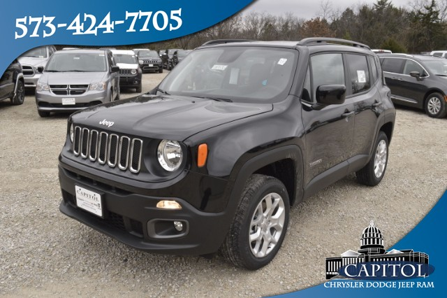 New 2018 JEEP Renegade 4WD Latitude