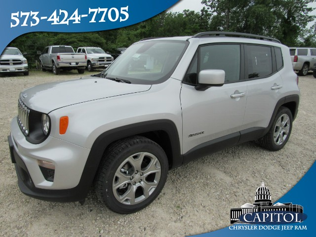 New 2019 JEEP Renegade 2WD Latitude