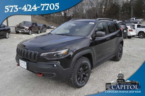New 2019 JEEP Cherokee 4WD Trailhawk Elite