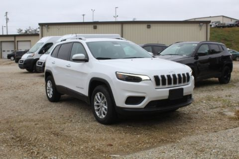 New 2020 JEEP Cherokee 4WD Latitude