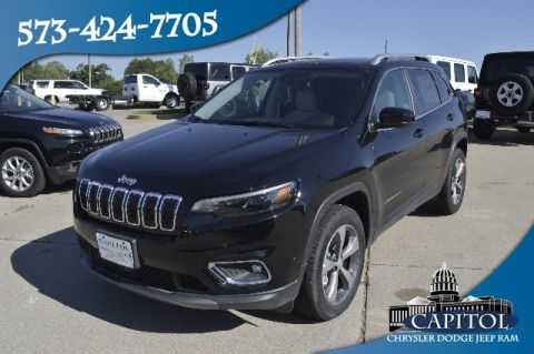 New 2019 JEEP Cherokee 4WD Limited