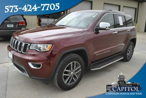 Pre-Owned 2018 Jeep Grand Cherokee 4WD Limited
