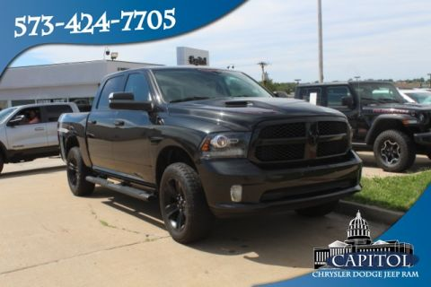 Pre-Owned 2017 Ram 1500 4WD Night Crew Cab