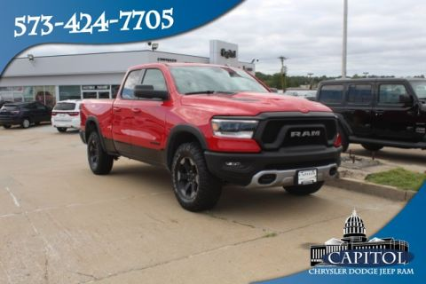 Pre-Owned 2019 Ram 1500 4WD Rebel Quad Cab
