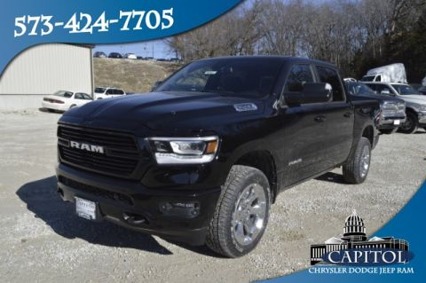 New 2019 RAM All-New 1500 4WD Big Horn Crew Cab