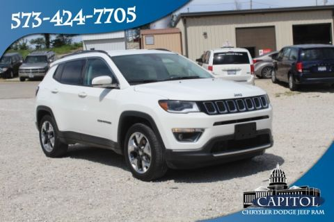 Pre-Owned 2018 Jeep Compass 2WD Limited