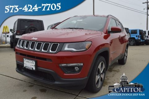 New 2018 JEEP Compass 4WD Latitude