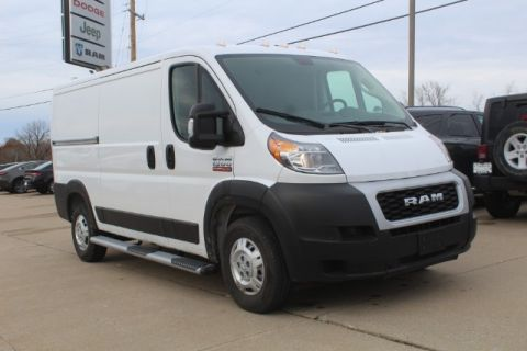 "Pre-Owned 2019 Ram ProMaster Cargo Van 1500 Low Roof 136"" WB"