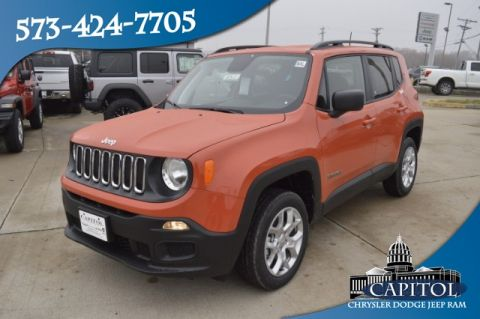 New 2018 JEEP Renegade 4WD Sport
