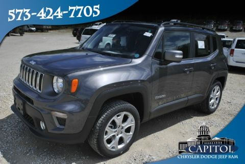 New 2019 JEEP Renegade 4WD Limited